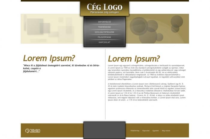 Webdesign A típus